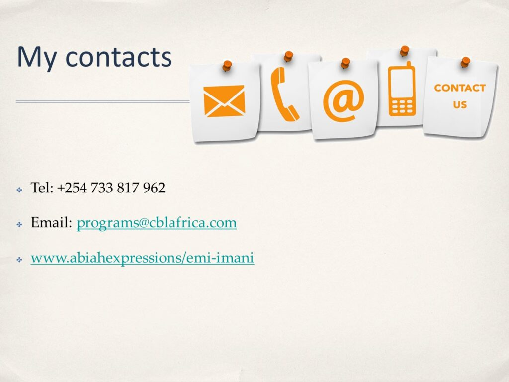 My Contacts
